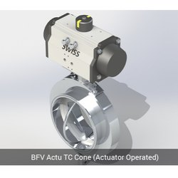 BFV Actu TC End Cone Actuator Operated
