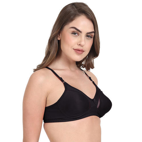 3189166fc09 Women Blended Cotton Beautiful Plain Bra at Rs 80  piece ...