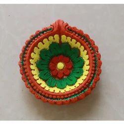 Decorative Flower Diya