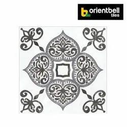 Orientbell ODG BACARDI BIANCO Highlighter Floor Tiles, Size: 395X395 mm