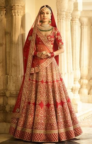 Shri Balaji As Shown Heavy Work Bridal Designer Lehenga Choli Tta