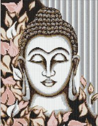Budha Mural in 10 mm x 10 mm