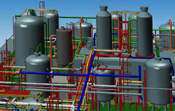 Plant Piping 3d Modeling
