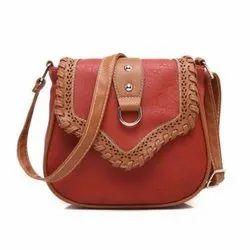 Rexine Ladies Designer Hand Bag