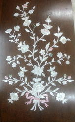 Wood Interior Mother of Pearl Door, For Home, Thickness: 10-30 Mm