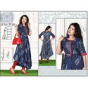 Ladies Fancy Printed Rayon Kurti