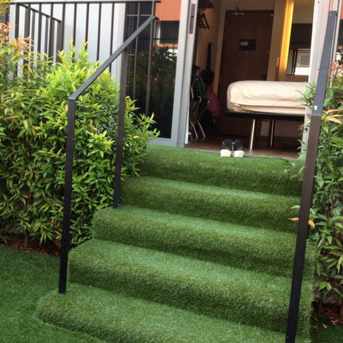 PE Straight Artificial Grass On Stairs, For Outdoor, Rs 100 /square feet   ID: 18049074848