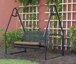 Wrought Iron Swings
