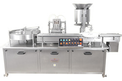 Fully Automatic Four Head Vial Filling Machine