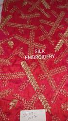 Silk Embroidery Fabrics