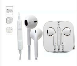Apple Iphone 6 7 In Ear Wired Earphones With Mic