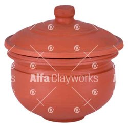 Terracotta Clay Cooking & Serving Pot