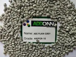 Reprocessed ABS Plain Grey Granules