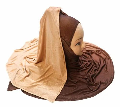 Surprising Rust Color Outdoor Wear 2 Shade Soft Jersey Stretchable Scarf Hijab Dupatta Ibusinesslaw Wood Chair Design Ideas Ibusinesslaworg