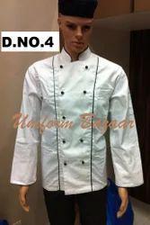 Cotton Chef Coat 100%