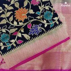 Ruby Fancy Semi Silk Saree, Packaging Type: Box