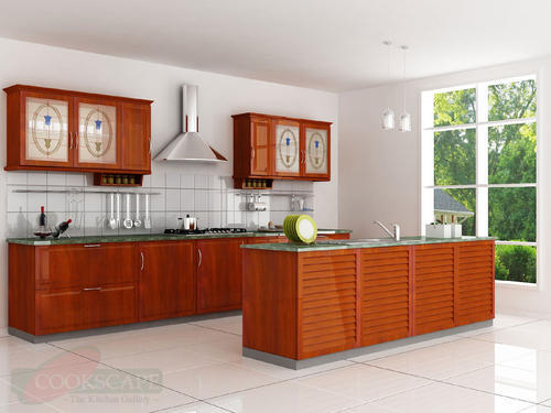 Residential Semi Modular Kitchen Services, Warranty: 10-15 Years