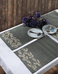 Xanadu Green Kitchen & Dinning Place-Mats Set Of 4 Piece