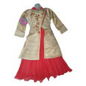 Sumi Collection Georgette Girls Indo Western Dress