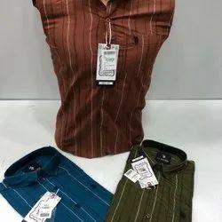Casal cotton Mens Branded Shirt