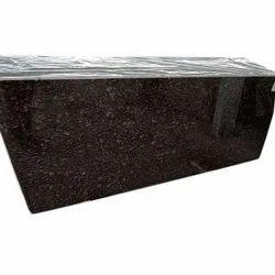 Polished Brown Pearl Granite Slab, Thickness: 15-20 mm