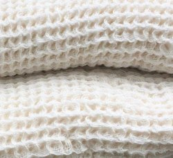 Ramesh Exports Plain High Quality Cotton Waffle Shampoo Bath Towels