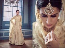 Sajwat Creation Begum Heavy Georgette Wedding Wear Salwar Suit