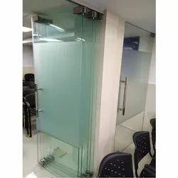 Sliding Folding Glass Door for Office