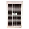 """15-22"""" White Pvc Cooler Side Grill"""