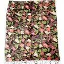 Silk Wool Print Scarves