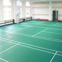 Asko Badminton PVC Mat Flooring, 4.5 Mm