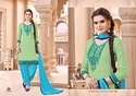 Cotton Embroidered Punjabi Salwar Kameez