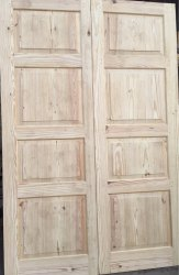 Touch Wood Exterior Wooden Door, for Home