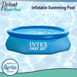 FRP Inflatable Swimming Pool, Height: 2.5-4 feet