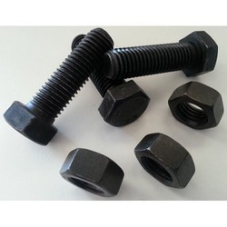 Nut Bolt, Size: 6 To 36 Mm