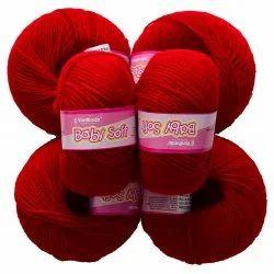 Vardhman Baby Soft Red Wool