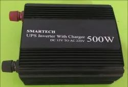 SMARTECH Mild Steel UPS Inverter With Charger 500w, Dc 12v To Ac 220v, Capacity: 500 W