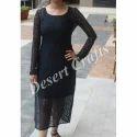 Black Ladies Net Dresses