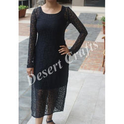 Black Ladies Net Dresses