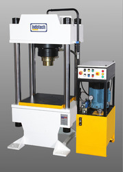 Mild Steel Four Pillar Type Hydraulic Press