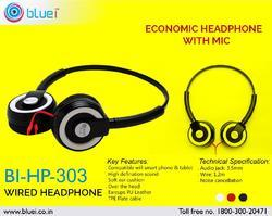 ECONOMIC WIRED HEADPHONE WITH MIC BI-HP-303