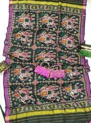 Pure Silk Handwoven Patola Dupatta