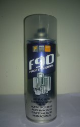 Liquid Stainless Steel Zinc Coating Spray, Packaging: 500 to 550 mL