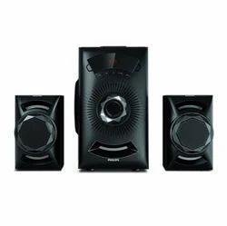 Black Philips 2.1 MMS IN-MMS2143B/94 Speaker System
