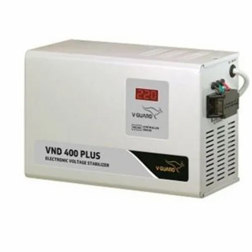 Single Phase V Guard VND 400 Plus Stabilizer, 150, 285