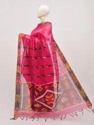 Party Wear Tye and Dye Pochampally Silk Cotton Saree