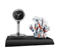 Desktop Clock with God Statue