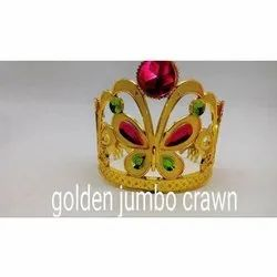 Jumbo Golden Birthday Crown