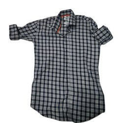 Clothqne Casual Checks Mens Shirt, Size: S- 3xl, Hand Wash And Machine Wash