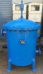Guru Mild Steel MS Oil Filter Housing, For Industrial